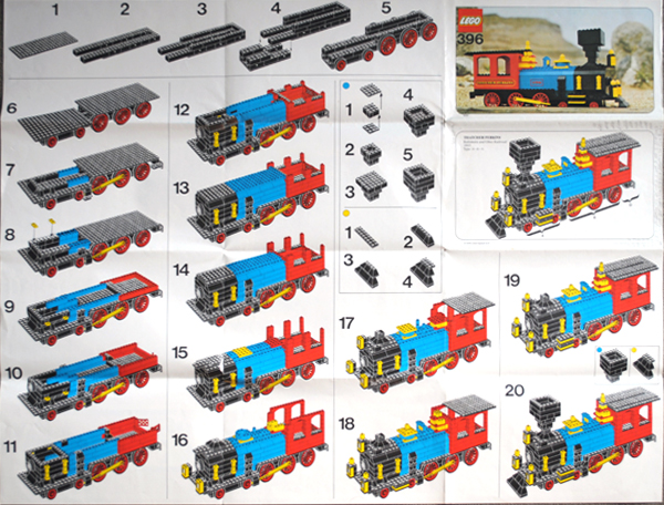 Review 396 Thatcher Perkins Locomotive Special Lego Themes