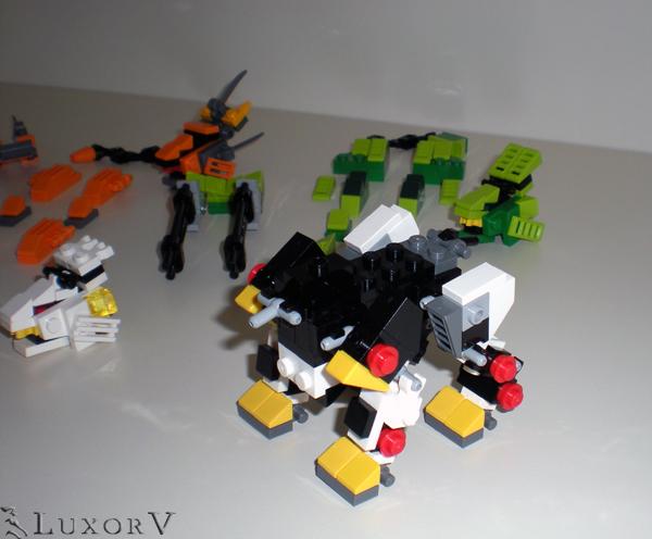 Zoids - Liger Zero - L... Zoids Liger Forms
