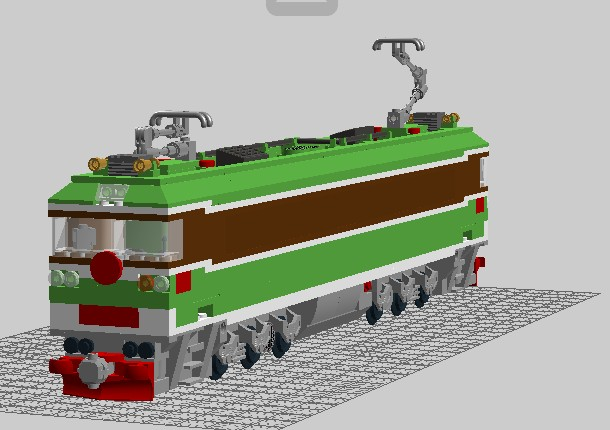 ss3型电力机车