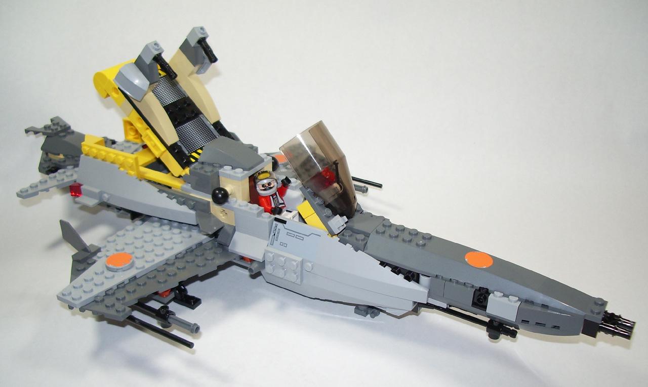 Brickshelf Gallery 2006 03 25 Lego B Wing Alternate054g