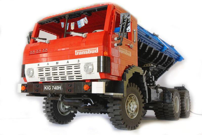 Как сделать грузовую машину из лего