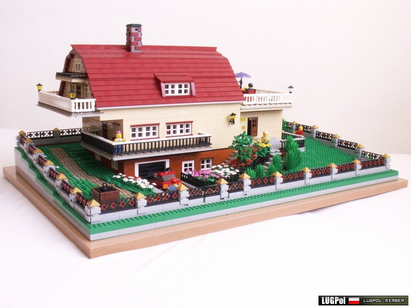 Brick Town Talk Farm House Lego Town Architecture