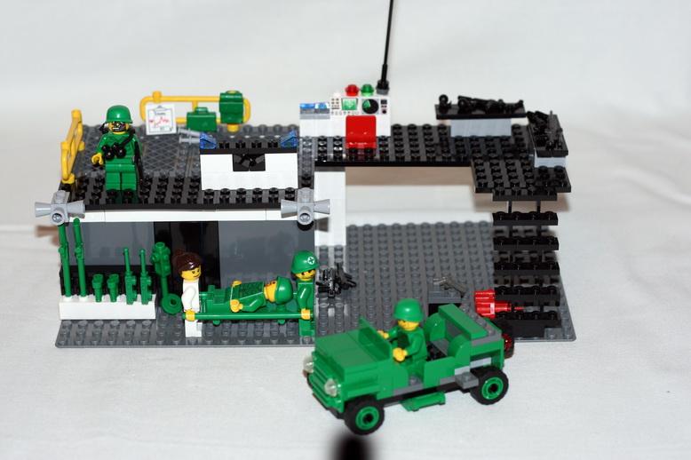 Как сделать маленькую базу из лего