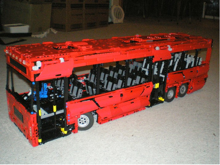 awesome technic bus lego technic and model team. Black Bedroom Furniture Sets. Home Design Ideas