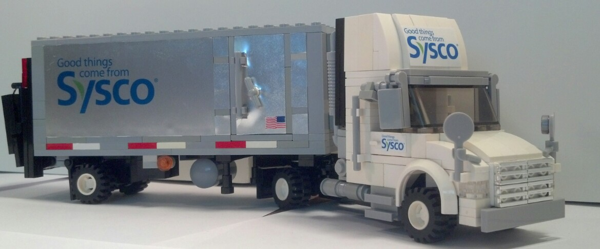 Sysco Food Delivery Truck SYSCO Delivery Truck (...