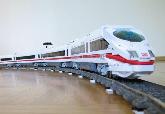 Lego electric train set 4559