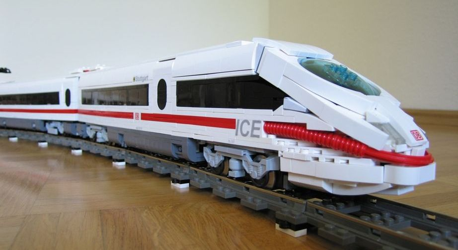 Ice 3 German High Speed Passenger Train A Lego Creation By