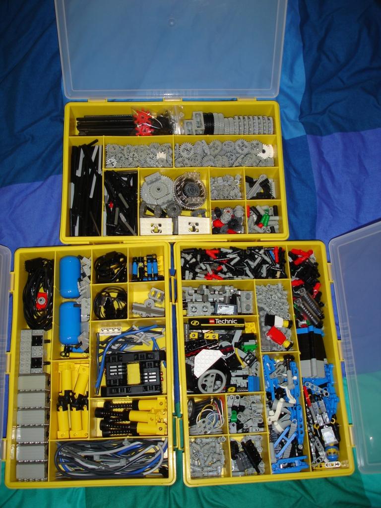 Le rangement des pi ces lego - Caisse de rangement lego ...