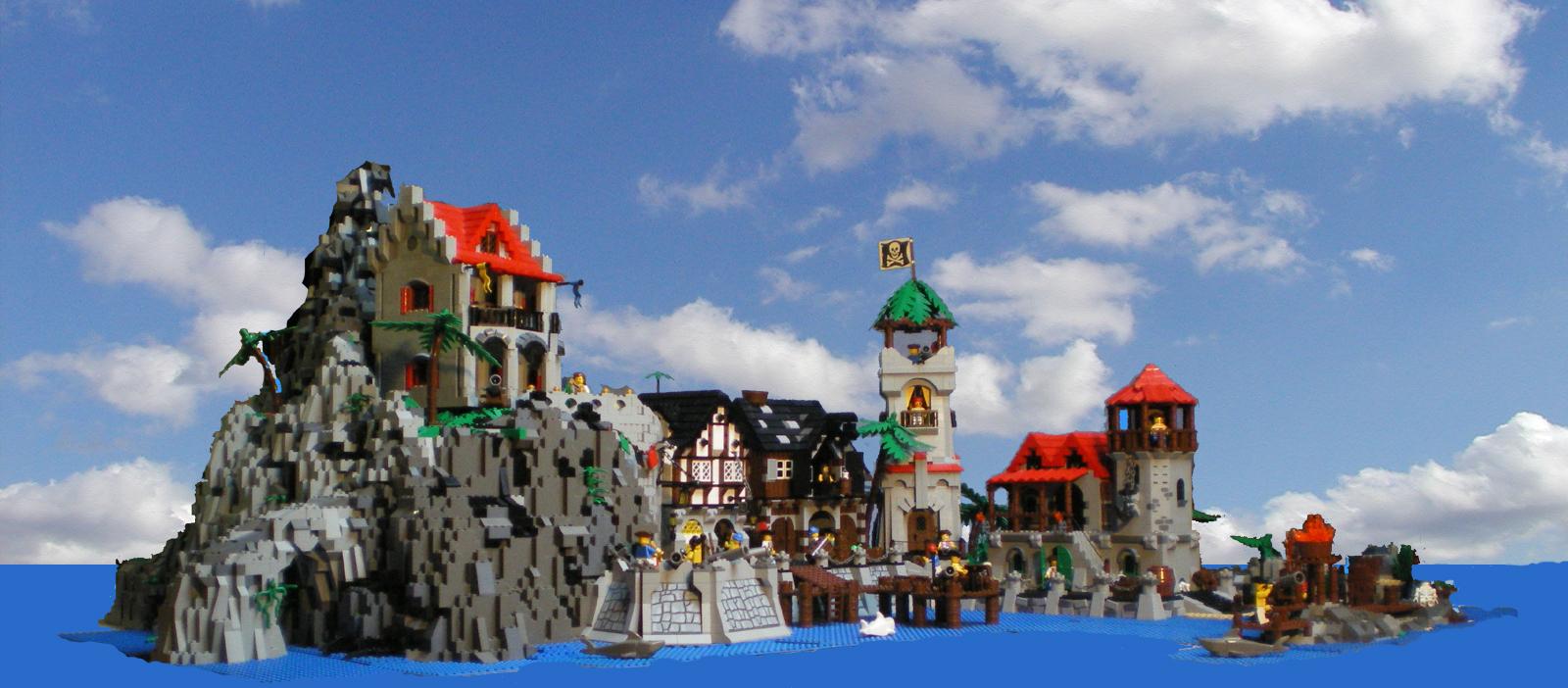 Meine Alten Piratenwelt Bauten LEGO Bei 1000steinede
