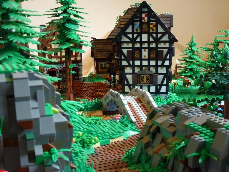 Середньовічне містечко