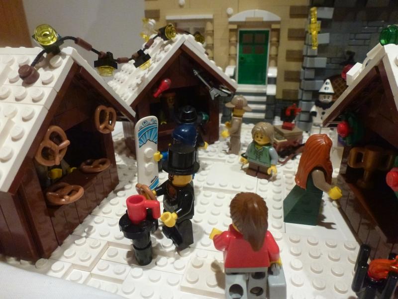 Lego Weihnachtsmarkt.Re Weihnachtsmarkt Am Alten Stadttor Lego Bei 1000steine De
