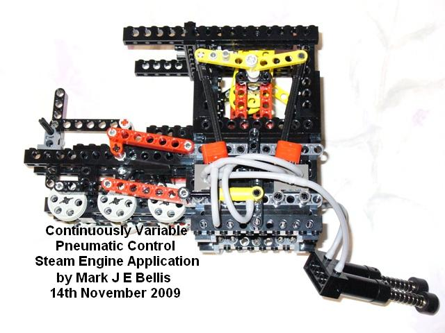Variable Pneumatic Steam Engine Lego Technic And Model
