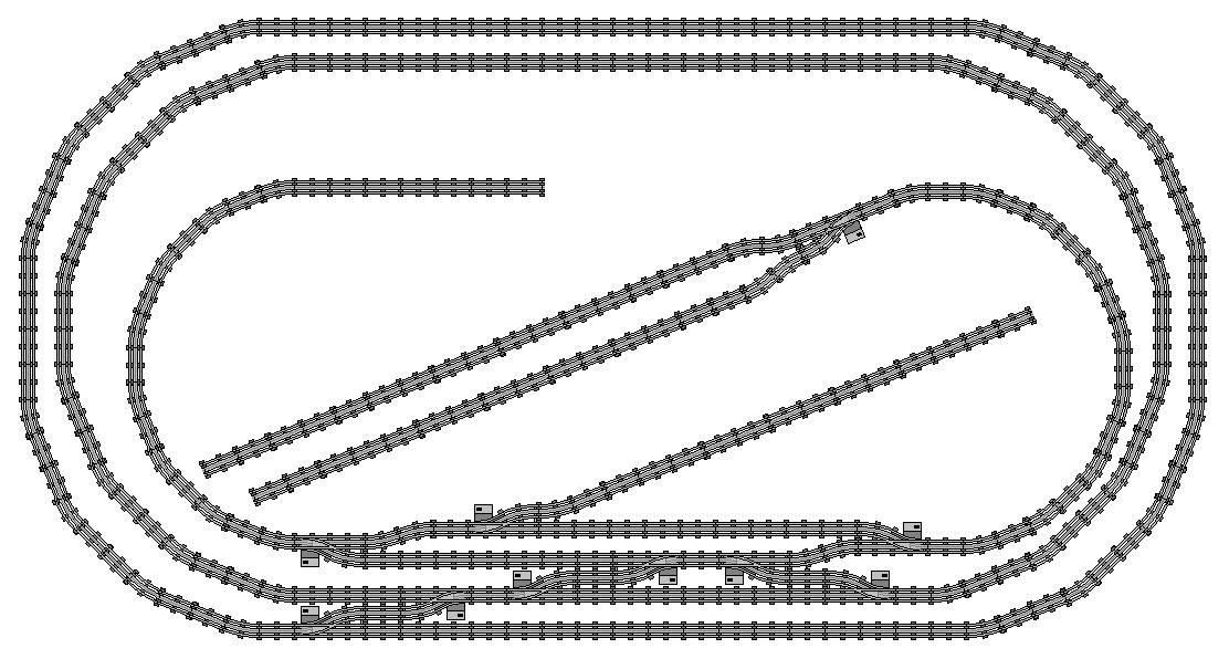 Digital Designed Layouts And Track Plans Lego Train Tech Eurobricks Forums