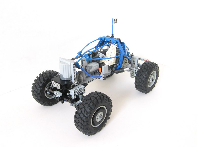 Blue Rock Crawler - LEGO Technic and Model Team - Eurobricks
