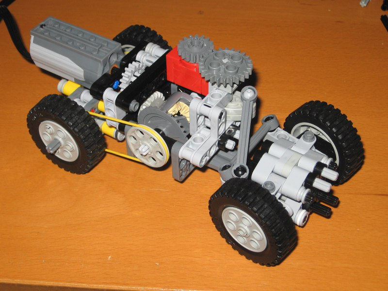 Mini Rally car - LEGO Technic, Mindstorms & Model Team - Eurobricks ...