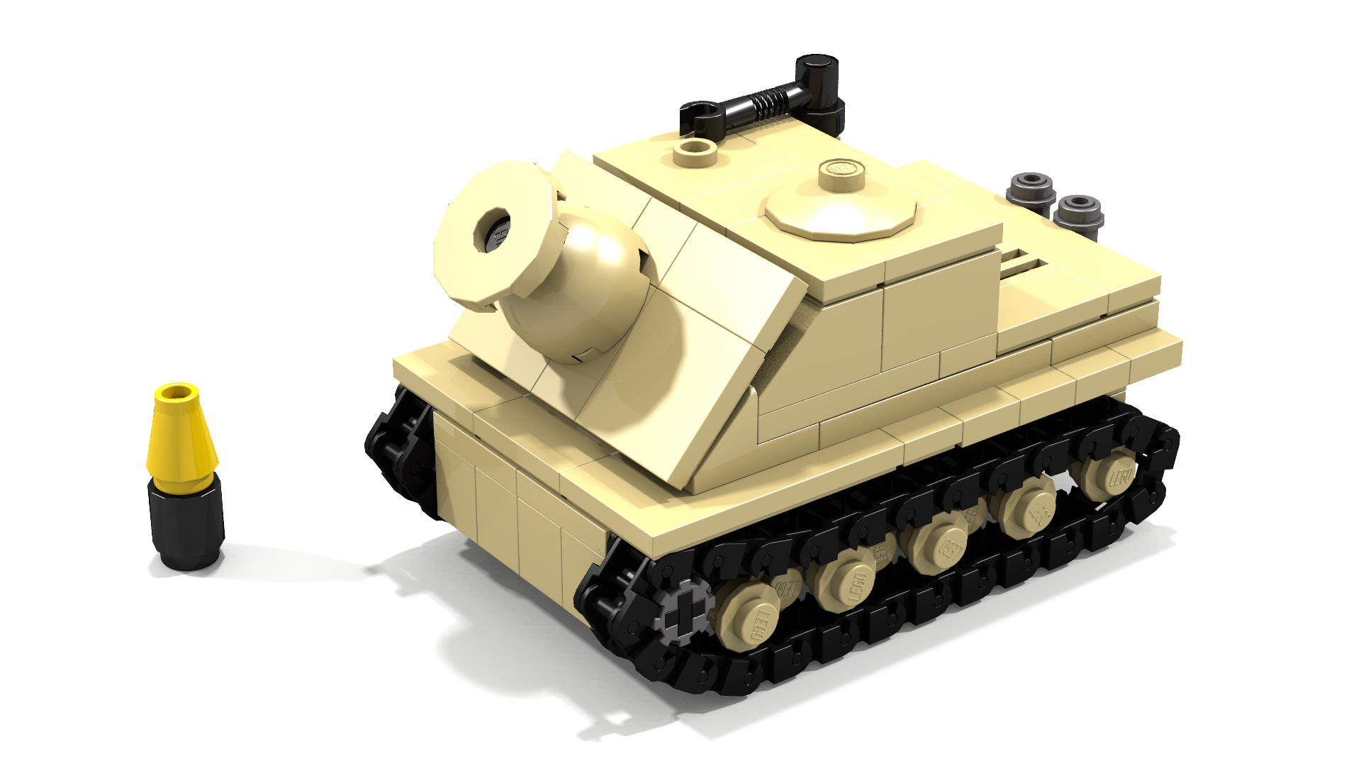 how to build a lego tank instructions