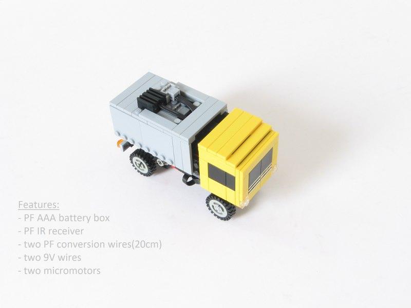 Lego truck mini PF