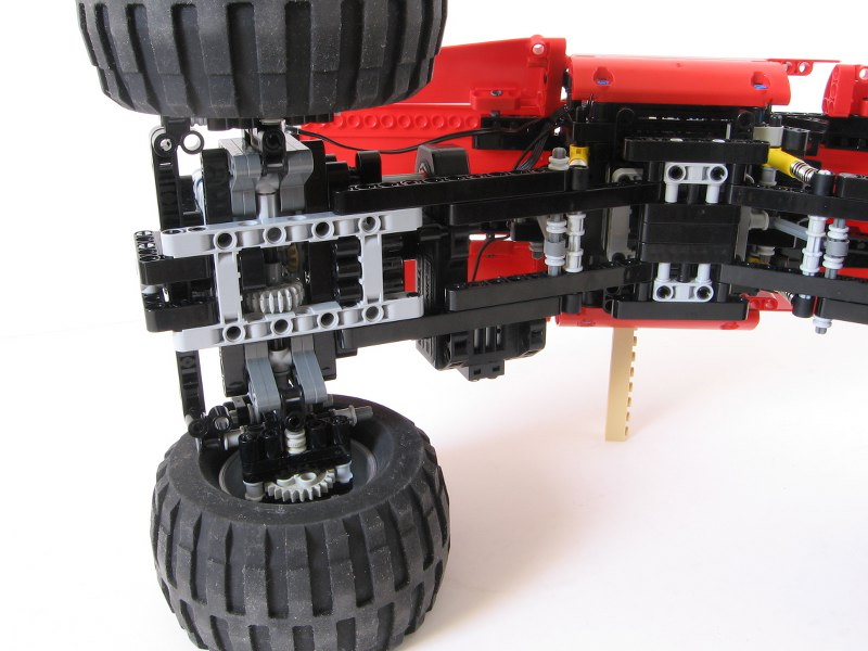 Rc Rock Crawler Pp Wheeled Lego Technic Mindstorms