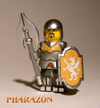 Sir Antionius pieszo