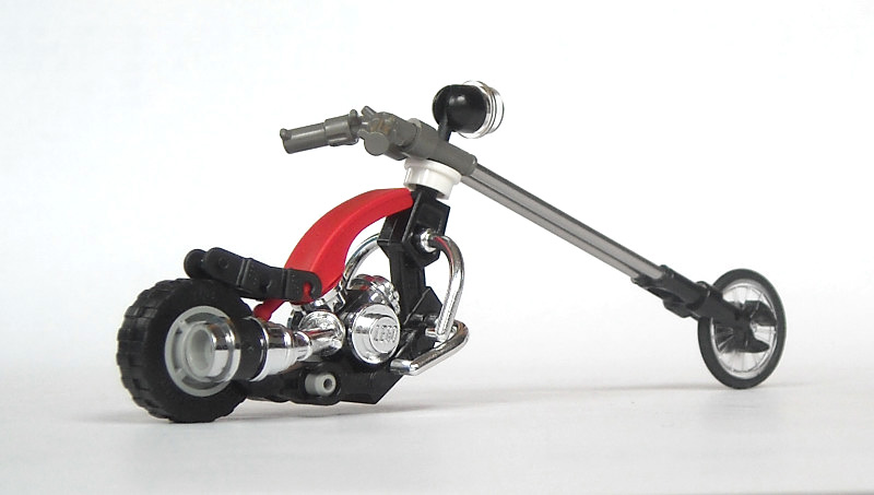 LEGO motorcycles choppers