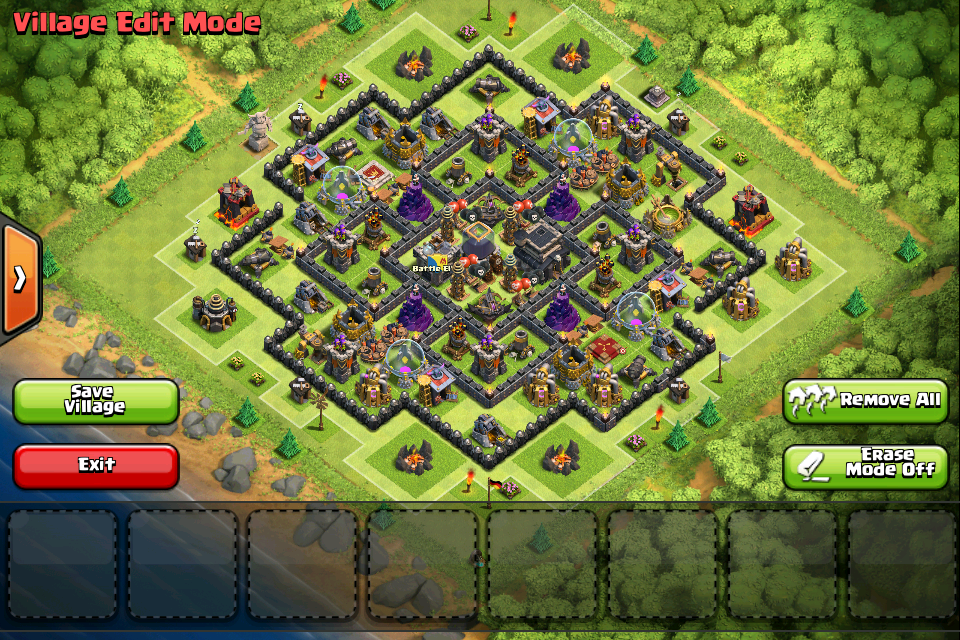 Base Coc Th 9 Terkuat 8
