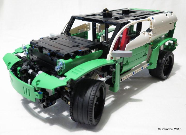 Сборке Лего Техник 42039