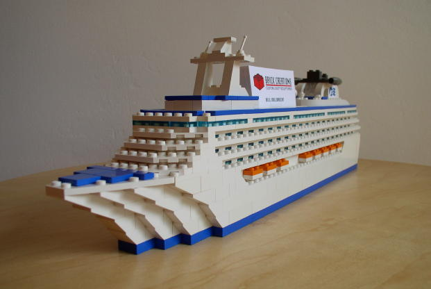 Microbricks Ship Shape