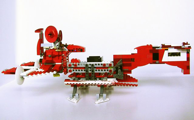 Review: 7665 Republic Cruiser - LEGO Star Wars ...