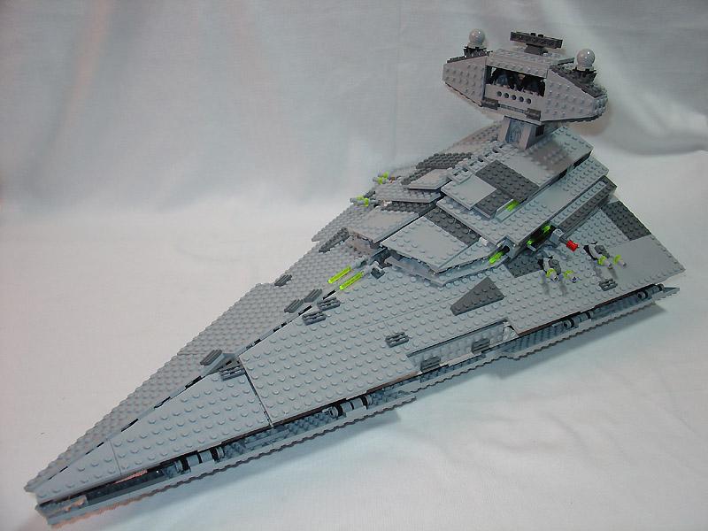 2006 星戰系列 6211  帝國滅星者號戰艦 外觀與機關解說篇