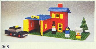 Как сделать из лего такси из фильма