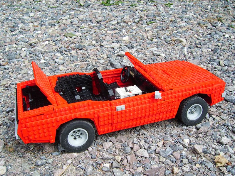 Muscle cars instructions - LEGO Technic and Model Team