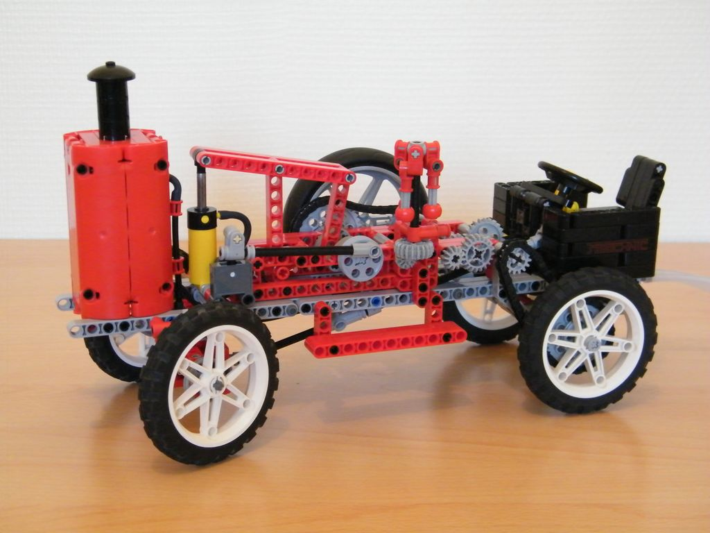 Technic Delicatessen Lego Technic Pneumatic Vehicle By Nico71