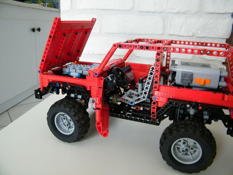 Nico71 s lego lada niva 4x4 with power functions lego technic