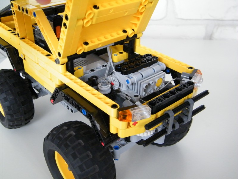 Nico71s Mini Trial Truck Has Building Instructions Lego Technic