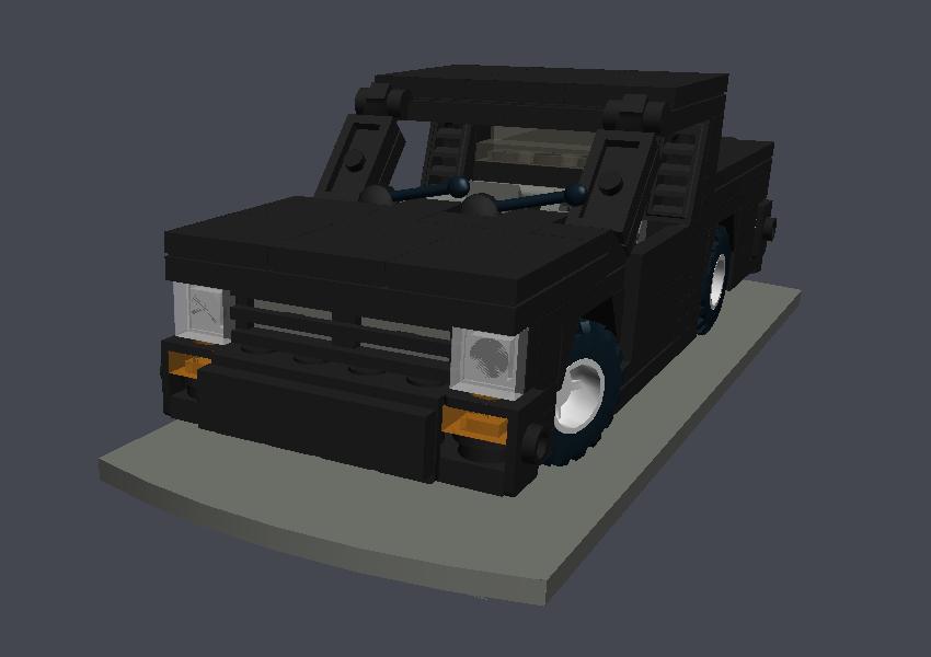 MAIN: GMC Syclone sport-pickup truck