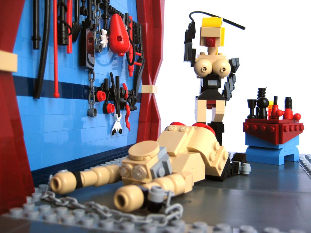 [LEGO] Créations d'oeuvres célèbres - Page 2 Romance1