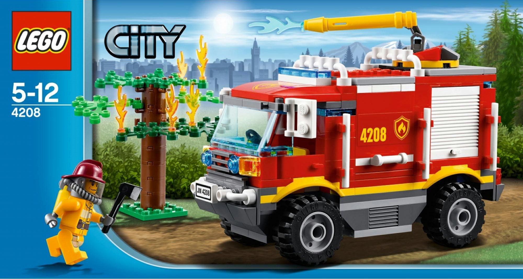 Nowości City Leśna Straż Pożarna 8studs