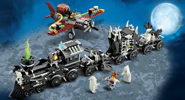 Forum Miłośników Klocków Lego View Topic 9467 The Ghost Train