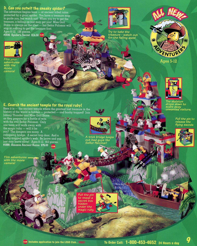 Home Shopping Catalog: Adventurers
