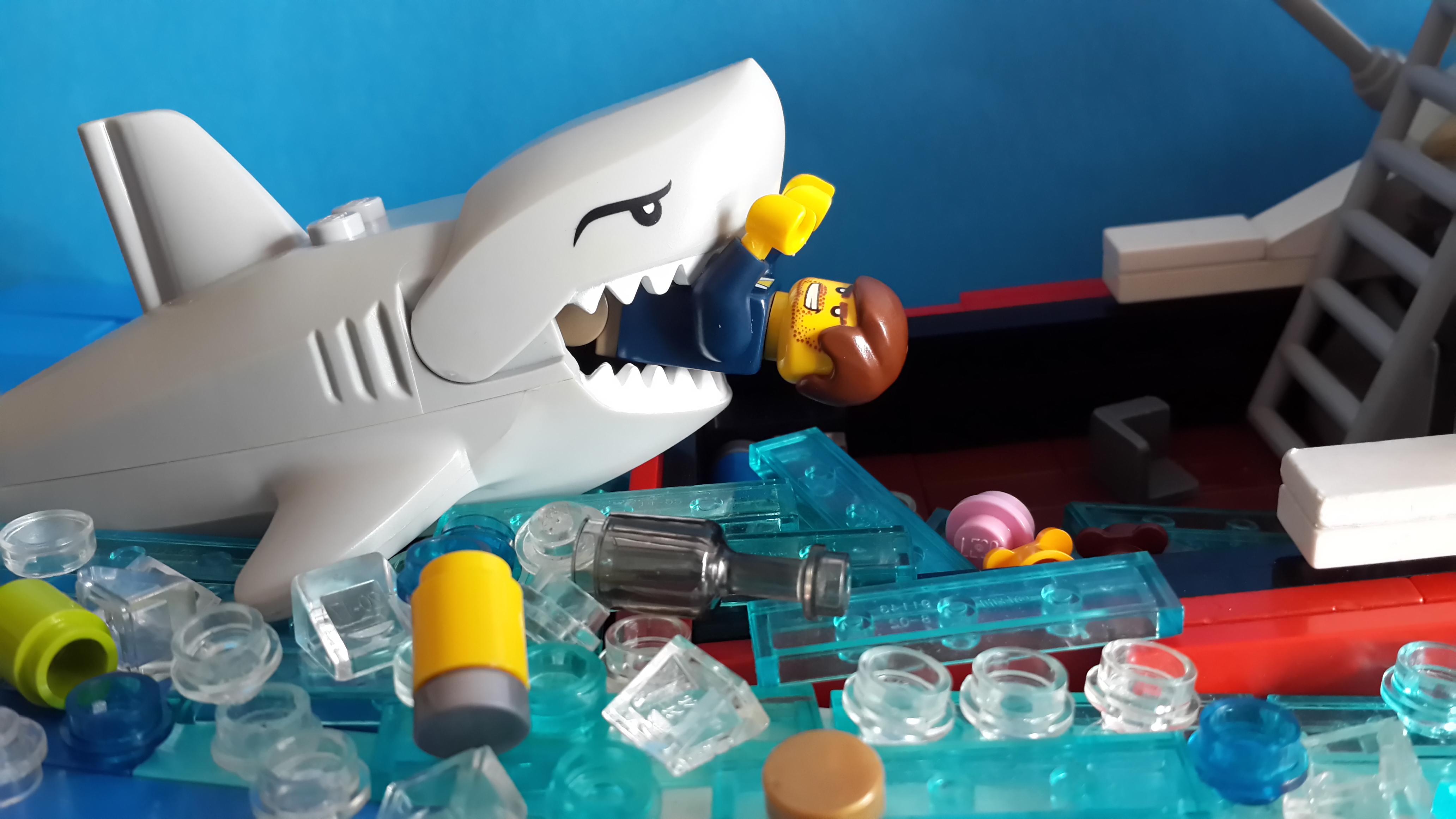 大白鲨场景