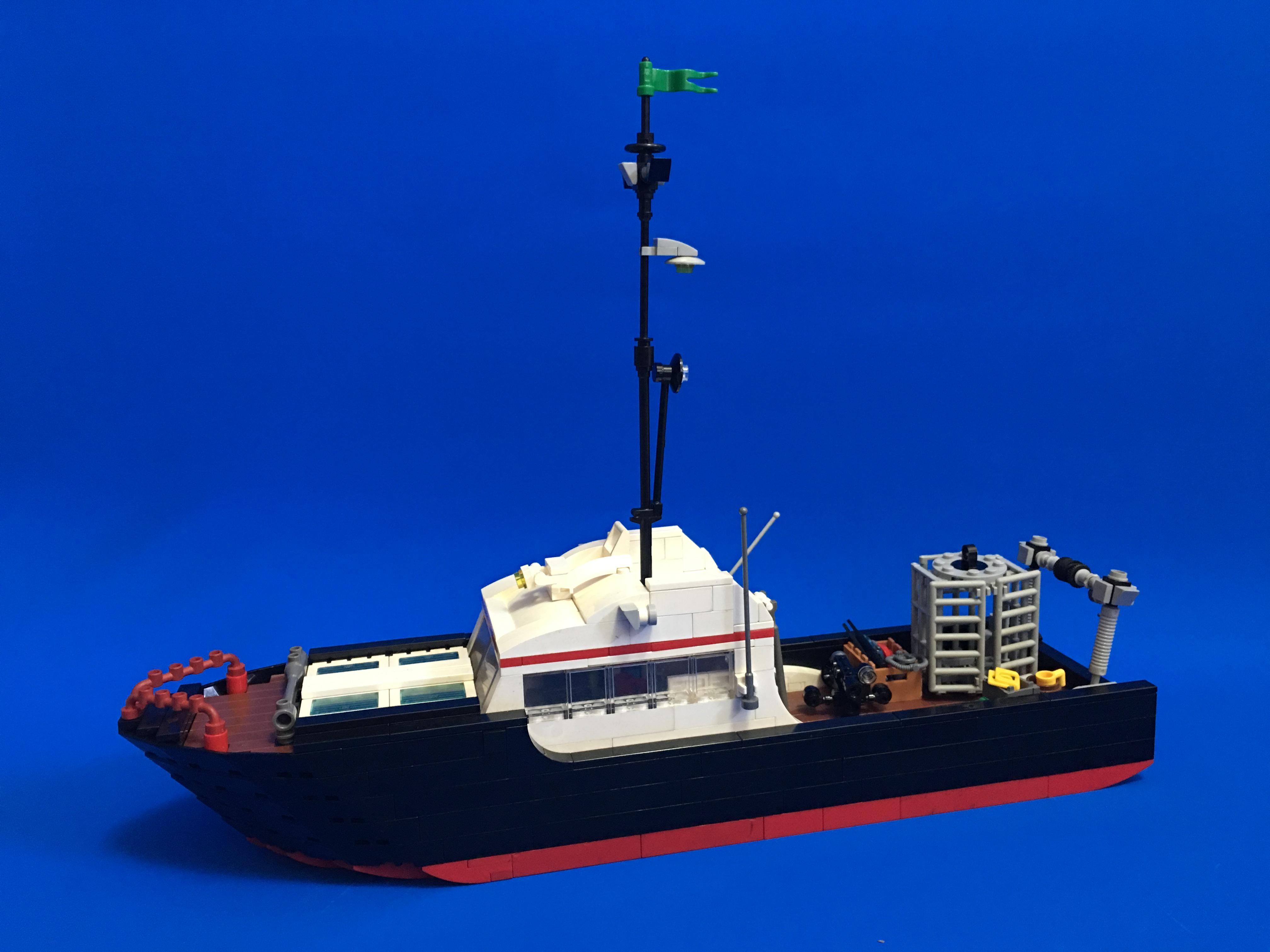 大白鯊研究觀測船
