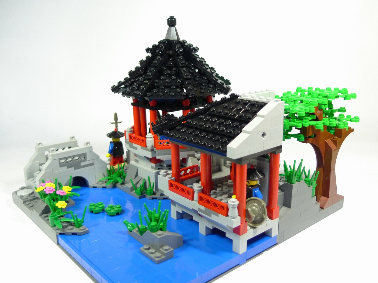 Brick And Me A Lego Blog Great Example Of Chinese Style Lego Creation