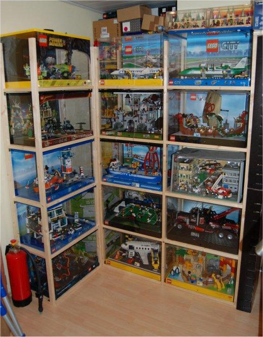 re lego schauk sten displays meine sammlung lego. Black Bedroom Furniture Sets. Home Design Ideas