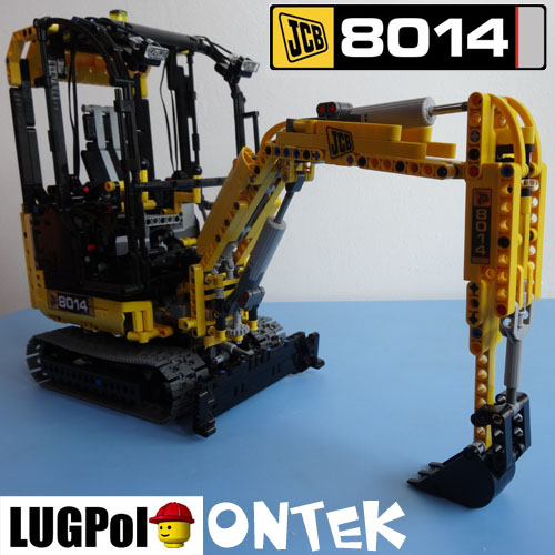 Onteks Jcb 8014 Lego Technic And Model Team Eurobricks Forums