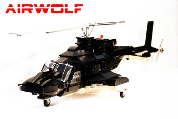 [LEGO] Créations d'oeuvres célèbres - Page 2 Airwolf