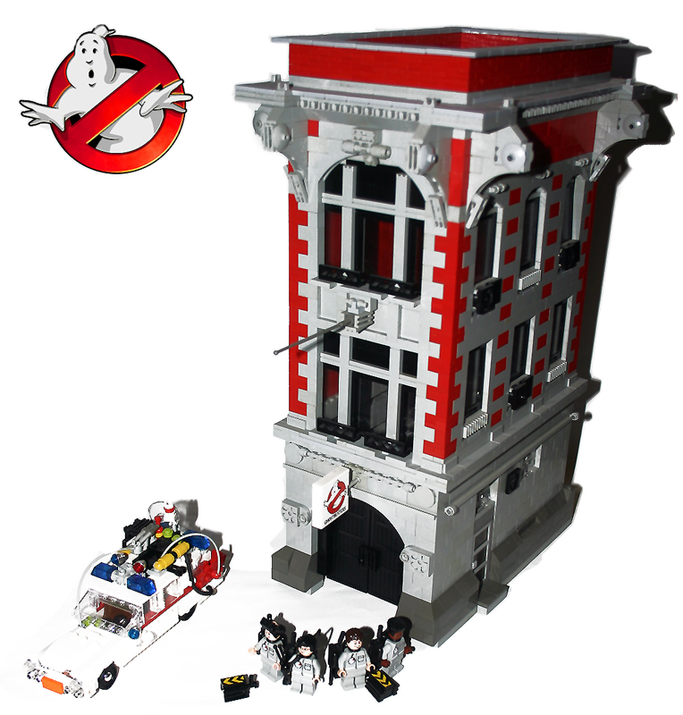 [LEGO] Créations d'oeuvres célèbres - Page 2 Ghostbusters