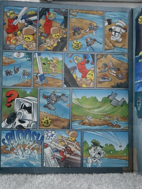 lego star wars instruction books