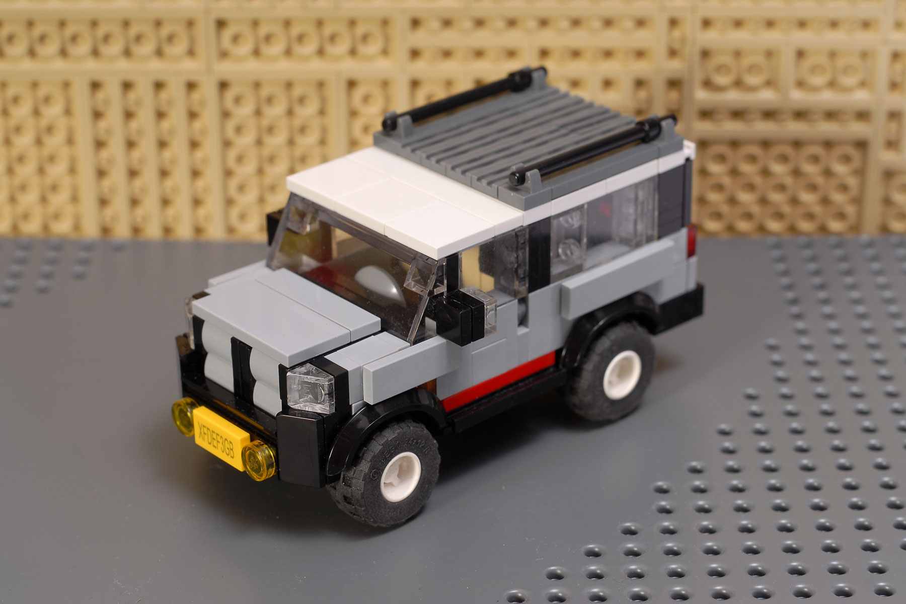 City Suv V1 A Lego Creation By Peteris Sprogis Mocpages