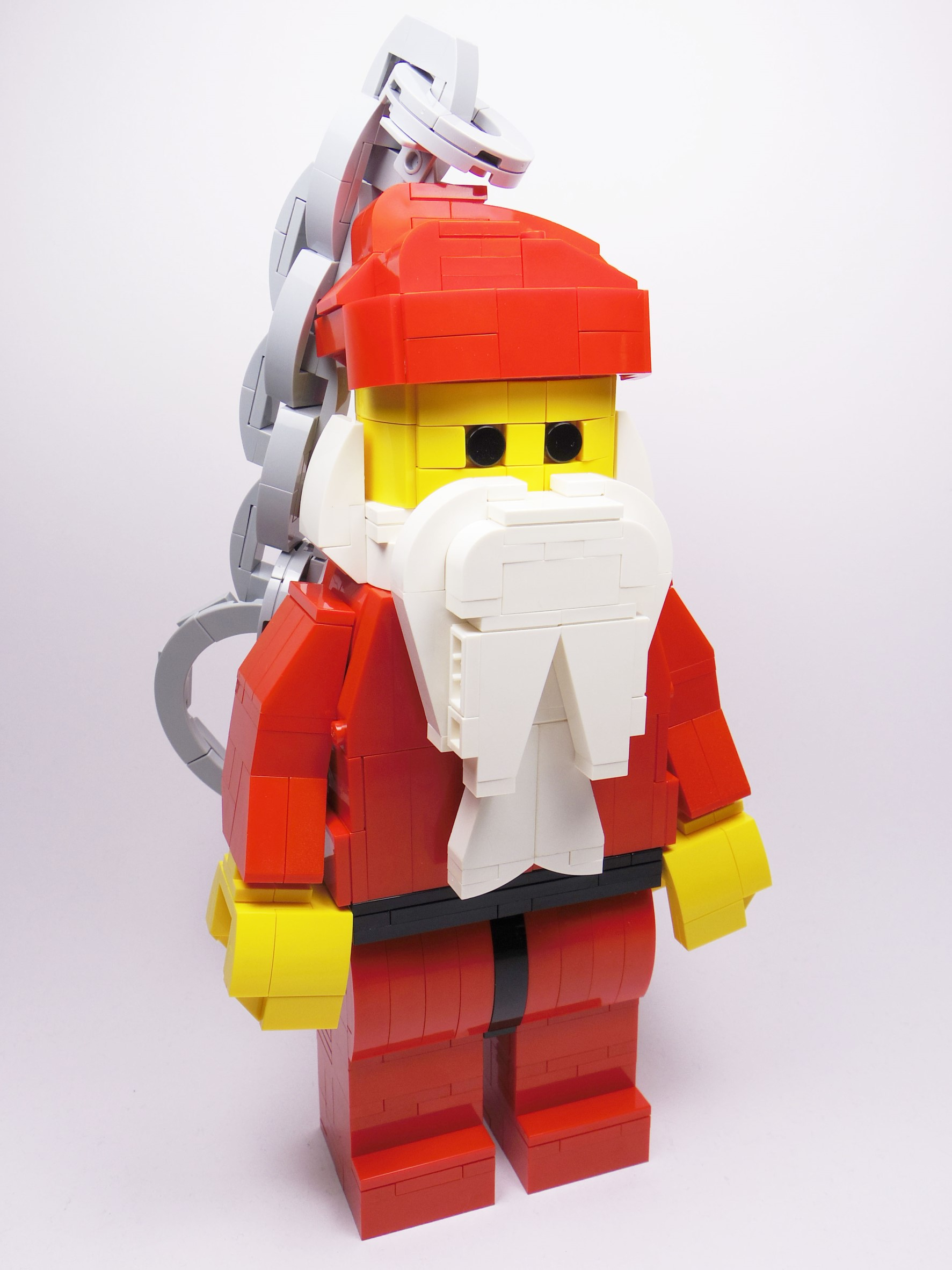 【查米】經典聖誕老公公鑰匙圈 Classic Santa Keychain