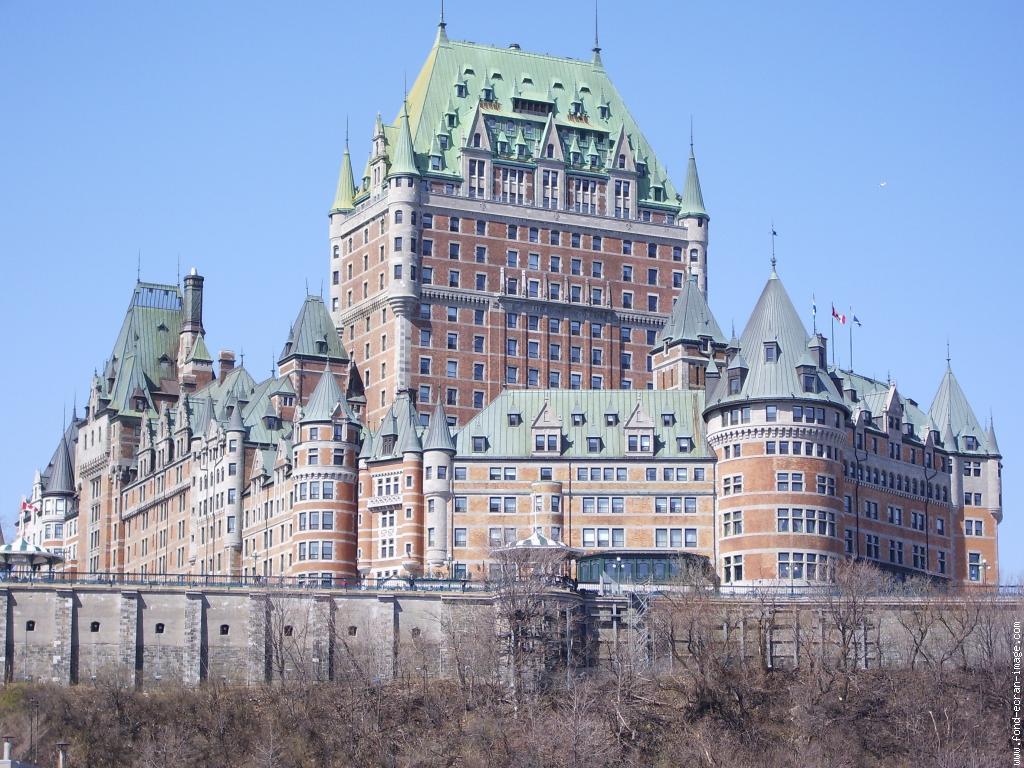 Отель fairmont le chateau frontenac квебек